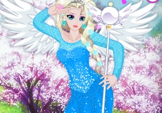Elsa in Anime World
