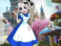 Elsa in Wonderland