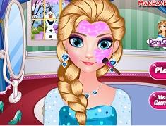 Elsa Makeover Time