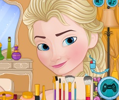 Elsa Now and Then Makeover