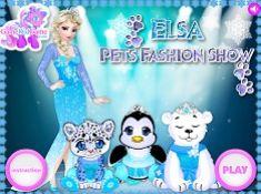 Elsa Pets Fashion Show