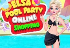 Elsa Pool Party Online Shopping