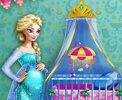 Elsa Pregnant Baby Room Decor