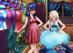 Elsa Pregnant Wardrobe