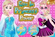 Elsa Princess Power