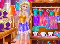 Elsa Secret Closet