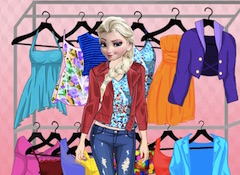 Elsa Spring Look