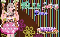 Elsa Spring Time