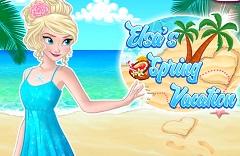 Elsa Spring Vacation