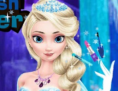 Elsa Stylish Makeover
