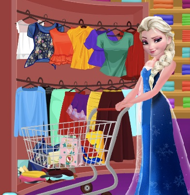 Elsa Summer Shopping