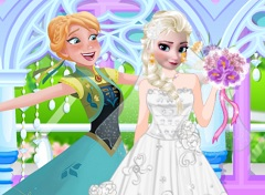 Elsa Wedding Day Prep