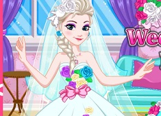 Elsa Wedding Dress Design