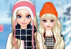 Elsa Winter Traveling