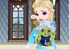 Elsa Zombie Baby Cure