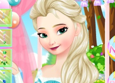 Elsas Candy Make Up