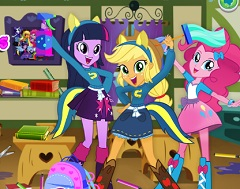 Equestria Girls Cleaning Class