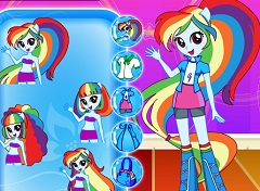 Equestria Girls Dress up