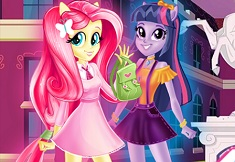 Equestria Girls First Day at Highschool