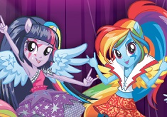 Equestria Girls Rainbooms Repeat the Beat