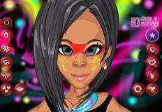 Jogar Face Art Design Gratis Online