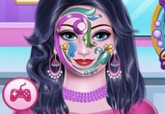 Face Spa and Paint Girl