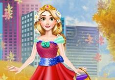 Fall Princess Dress Up