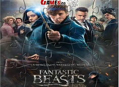 Fantastic Beasts and Where to Find Them Puzzle