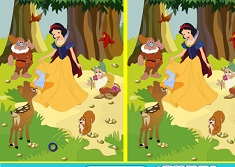 Find the Difference Snow White