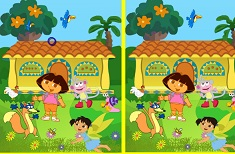 Find the Differences Dora