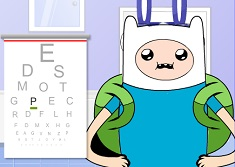 Finn at the Eye Doctor