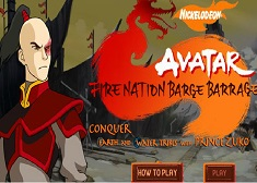 Fire Nation Barge Barrage