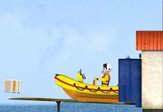 Fireman Sam Lifeboat Launch