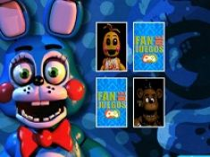 Five Nights at Freddy Memory Cards