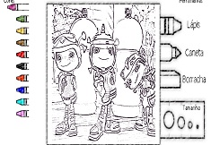 It is a graphic of Decisive floogals coloring pages