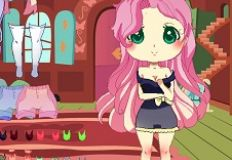 Fluttershy Dress Up