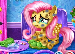 Fluttershy Injured