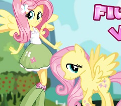 Fluttershy Pony vs Human