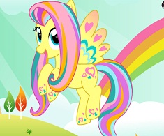 Fluttershy Rainbow Power