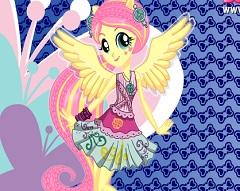 Fluttershy Rocking Style