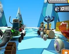Formula Cartoon Stars 3D Race