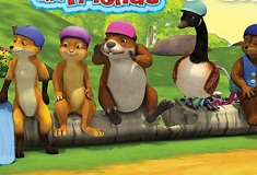 Franklin and Friends 6 Differences