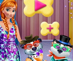 Frozen Anna Dog Care