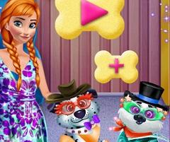 Frozen Anna Dog Care