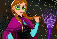 Frozen Anna Halloween Dress Up