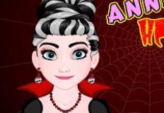 Frozen Anna Halloween Hairstyle