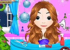 Frozen Anna Messy Hairstyle