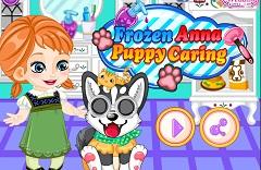 Frozen Anna Puppy Care