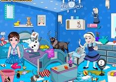 Frozen Babies Room Cleaning