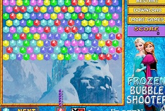 Frozen Bubble Shooter